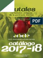 Catálogo arbolé 2017-18