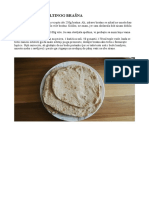 Tortilje Od Speltinog Brasna - recept