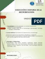 1 INTRODUCCIÓN E HISTORIA DE LA MICROBIOLOGÍa 2018