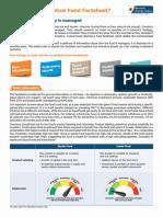 Mutual Fund Factsheet How To