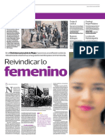 Reivindicar Lo Femenino