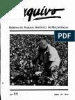 Boletim do Arquivo Histórico de Moçambique Nº11 - Abril de 1992