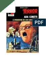 Coretti Ada - Seleccion Terror - 439 - La Mansion De Los Locos.doc