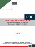 Instructivo Formato 1 Formulacion
