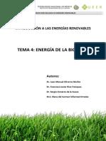 Tema 4 - Energía de La Biomasa