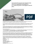 Aeroclube do Paraná,Escola Paranaense de Aviação março 1918, quartel da Companhia de Bombeiros Pontoneiros,hangar,pista de pouso,decolagem,bairro do Portão.docx