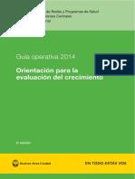 01 Guia Operativa 2014.Orientacion Para La Evaluacion Del Crecimiento
