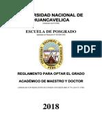 REGLAMENTO  DE OBTENCION DE GRADO DE MAESTRO Y DOCTOR.pdf