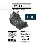 35 DT Mini Skid Owner & Parts(6)