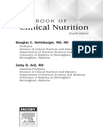 Handbook of Clinical Nutrition, 4th Edition