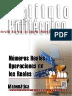 1201-16 MATEMATICA Números Reales-Operaciones en Los Reales