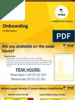 Onboarding Module 031117