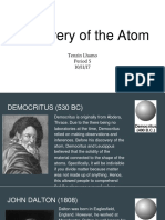 discovery of the atom