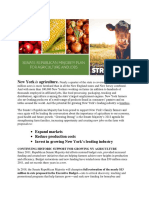 SENATE REPUBLICAN MAJORITY PLAN FOR AGRICULTURE AND JOBS