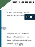 Aula 1 - Sistemas e Elementos Estruturais