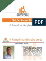 Apresentação da Chapa Controle e Resultado - Eleições FUNCEF