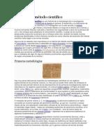 Historia Del Método Científico