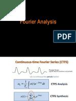 Fourier Analysis Summary