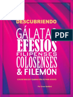 Descubriendo Gálatas Efesios Filipenses Colosenses Filemón v1