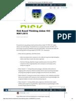 (6) Risk Based Thinking Dalam ISO-9001_2015 _ LinkedIn