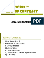 Topic 2 - Law of Contract.ppt