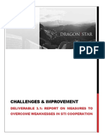 A REPORT BASED ON SURVEYS AND INTERVIEWS WITH RESEARCHERS INVOLVED IN EU FRAMEWORK PROGRAMMES ON THE OBSTACLES AND THEIR RECOMMENDATIONS HOW TO OVERCOME THE WEAKNESSES