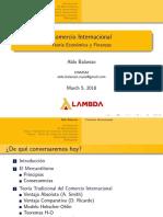 Teoría Del Comercio Internacional (Versión Alumnos)