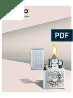 2018 Zippo Lighter Full Line Catalog
