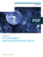 FINAL Hydrogen - Decarbonising Heat Position Paper Single Pages Low Res