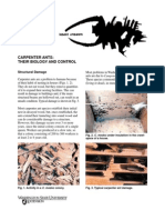 Carpenter Ants Biology and COntrol. HANSEN