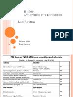 Unit x Law Review Engr 4760