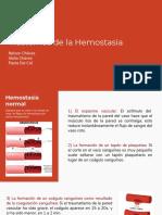 Seminario- Trastornos de La Hemostasia (1) (1)