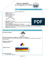 Oxido de Manganeso IV
