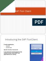 SAP Fiori Client _ Launching Ways