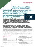 Sinus Nodal Reentrant Tachycardia