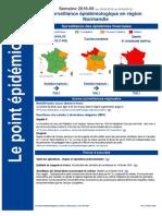 Surveillance épidémiologique Normandie