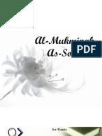 Al Mukminah Dan as Solehah