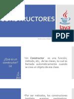 Java (12) Constructor de La Clase