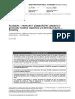 ISO 21568.2 - Sampling OGM in Foodstuffs