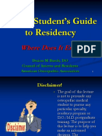 Residency Guide