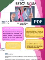 Informe Impuesto Rosa 2018