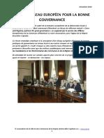 2010-12-Vers Un Reseau de Bonne Gouvernance
