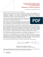 Courrier DSF Juncker 28 02 2018