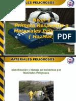 Diapositiva Materiales Peligrosos Nivel 1