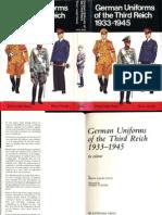 German Uniforms of the Third Reich 1933-1945