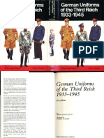 German Uniforms of the Third Reich 1933-1945