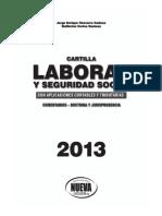 Cartilla Laboral Con Aplicaciones Contables y Tributarias