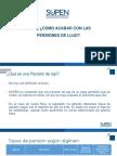 Presentación de Álvaro Ramos Chaves en Foro ¿Cómo acabar con las #PensionesDeLujo? (07/03/18)