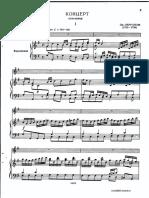 Pergolesi Flute Concerto Score