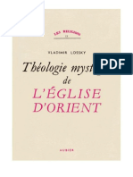 Vladimir Lossky, Essai Sur La Theologie Mystique